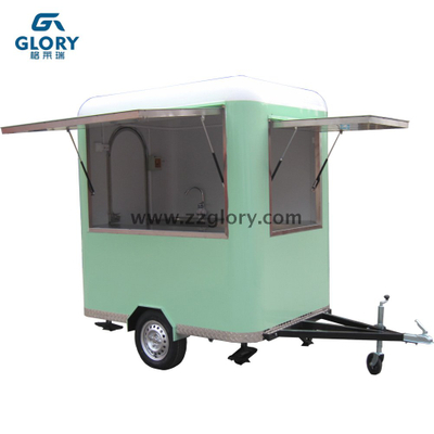 Hot Sell Low Investment Trailer Type Snack Food Van