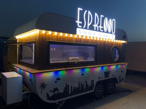 New Design Mobile Food Truck