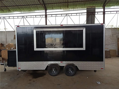 European Popular Food Trailer Small Street Mobile Food Cart with Crepe Food Truck