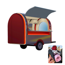 Glory Mobile Kitchen Churros Caravan Cart For Sale Europe