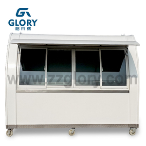 Mobile Concession Food Kiosk Candy Vending Food Cart Kiosk In Philippines