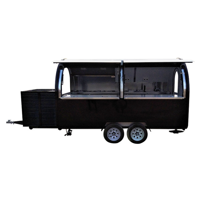 Mobile Shawarma Food Truck Hamburger Food Trailer for Sale