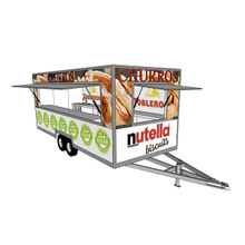 European Standard Customized 5 Meters Fast Food Truck Manufacturers