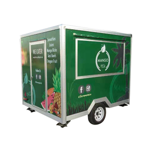 European Standard Custom Service 3 Meters Fast Food Truck Manufacturers