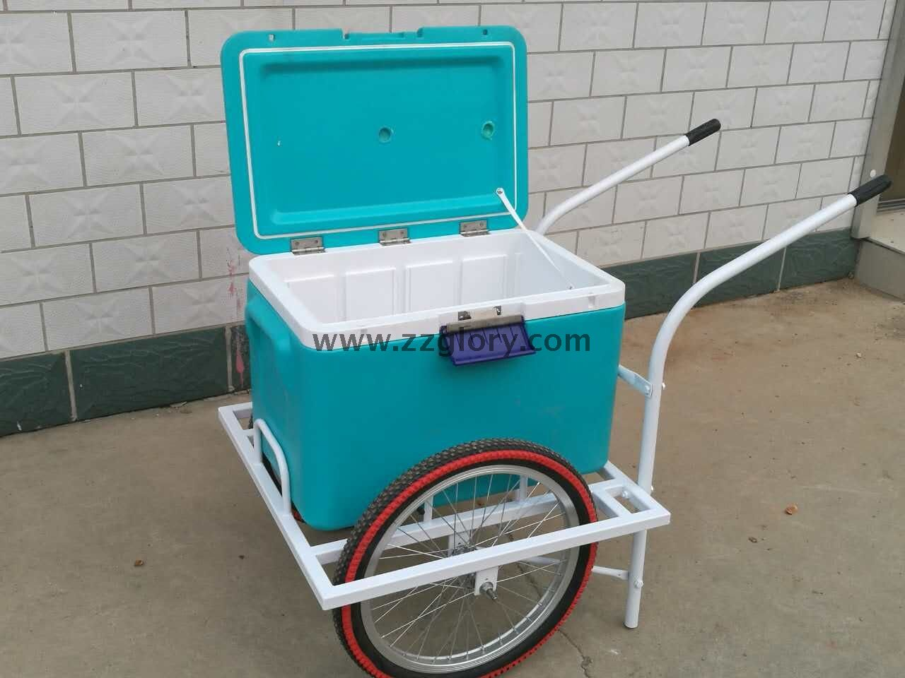 Hand Push Pickup Truck Popsicle And Ice Cream Stand