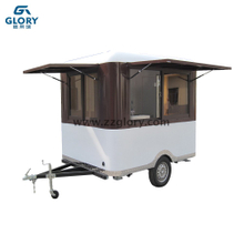 Spacious Mobile Hot Dog Cart Mobile Coffee Cart Coffee Food Van