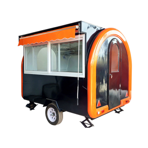 Popular Food Truck with Electric Bread Making Machine for Sale Europe