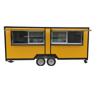 "2020 Outdoor ""Made To Order"" Food Trailer Stainless Steel Custom Food Truck"