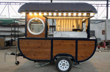 Mini Mobile Coffee Cart