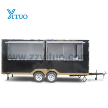 Customized Fast Mobile Food Truck with Kitchen Equipment
