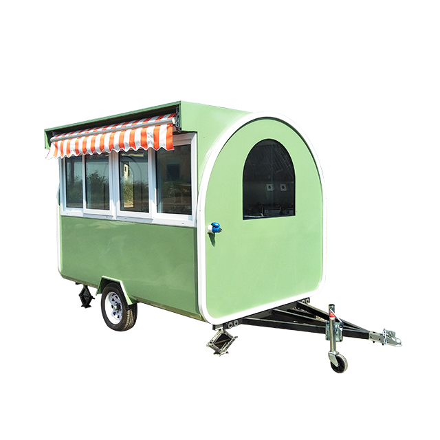 Coffee Food Trucks And Mobile Food Trailer for Sale Europe