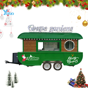 Boiled Peanut food trailer Popcorn Boat Food Truck with Design Color for Sale American Snack