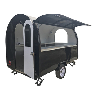 Crepe Food Trailers Contact Grill Food Trailer Corn Chips Food Trailer