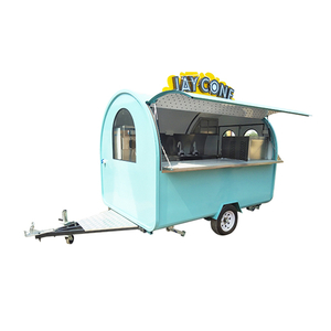 Australia Multifunctional Mobile Food Trailer with Snack Machine for Sale